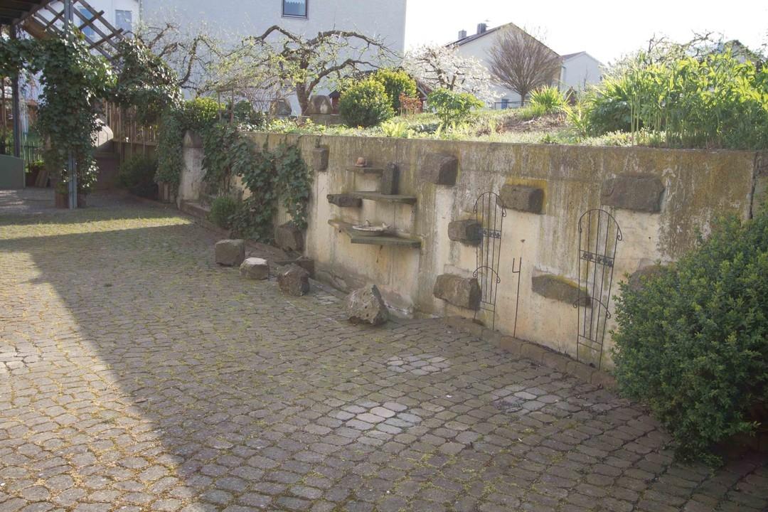 Terrasse Hauptwohnung