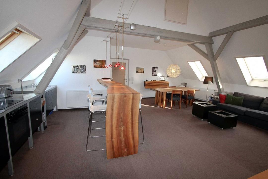 Wohnbereich kleine Wohnung